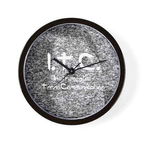 ITC instrumental transcommuni Wall Clock