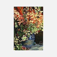 Renoir: Gladiolas in a Vase Rectangle Magnet