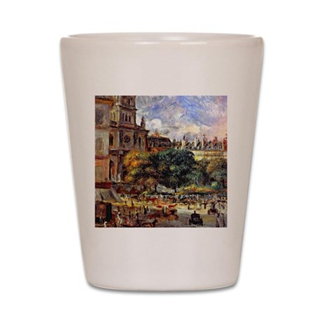 Renoir - Church of the Holy Trinity in Shot Glass