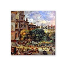 "Renoir - Church of the Holy Square Sticker 3"" x 3"""
