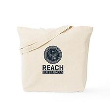 Reach Elite Forces Portrait Logo Tote Bag
