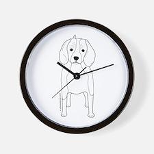 Beagle! Wall Clock