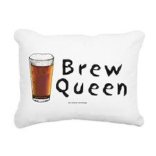 Brew Queen (Beer) Rectangular Canvas Pillow