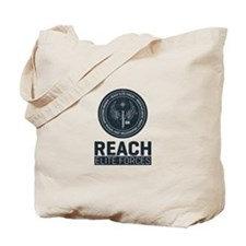 Reach Elite Forces Portrait Logo Tote Bag