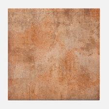 Brown Watercolor Tile Coaster