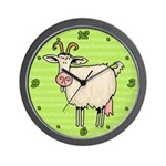 Goat Wall Clock
