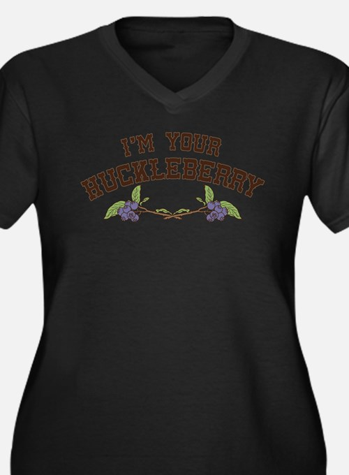 Im Your Huckleberry Plus Size T-Shirt