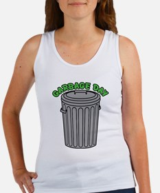 Garbage Day Trash Can Tank Top
