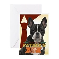 Frenchie Father's Day Card