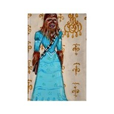 Chewbacca elegance Rectangle Magnet