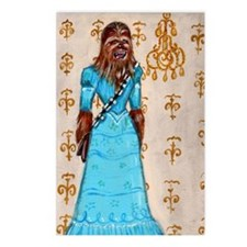 Chewbacca elegance Postcards (Package of 8)
