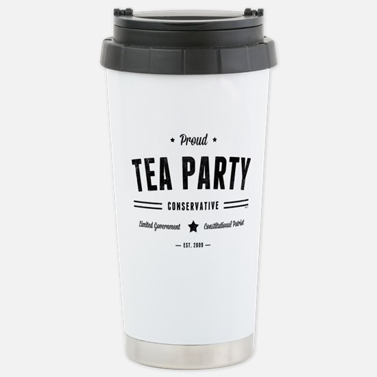 Tea Party Conservative Travel Mug