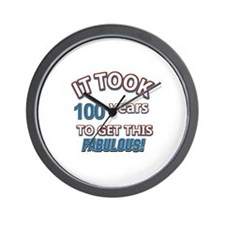 Took 100 years to look this fabulous Wall Clock