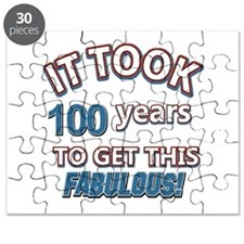 Took 100 years to look this fabulous Puzzle