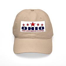 Ohio The Buckeye State Baseball Cap