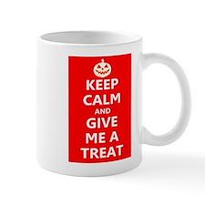 Keep Calm and Give Me A Treat Mugs