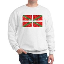 Basque Flag Pointillized Sweatshirt