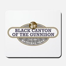 Black Canyon o the Gunnison National Park Mousepad
