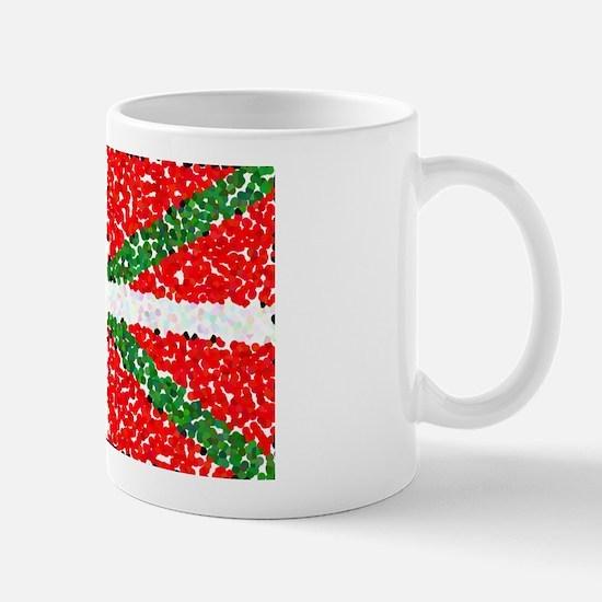 Basque Flag Pointillized Mug