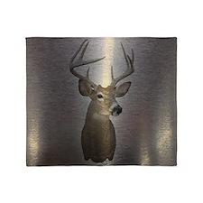 stainless deer  Throw Blanket