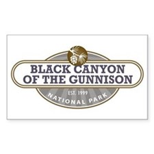Black Canyon o the Gunnison National Park Decal