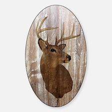 woodgrain deer Decal