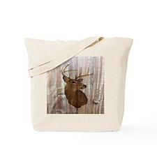 woodgrain deer Tote Bag