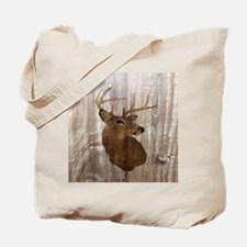 woodgrain deer Tote Bag