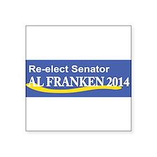 Reelect Senator Al Franken 2014 Sticker