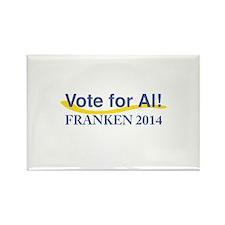 Vote for Al Franken 2014 Magnets