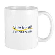 Vote for Al Franken 2014 Mugs