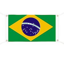 Flag of Brazil Banner