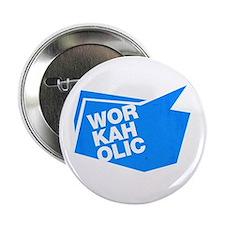 "workaholic blue 2.25"" Button (10 pack)"
