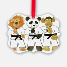 Kung Fu Critters Ornament