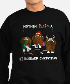 St. Bernard Christmas Jumper Sweater