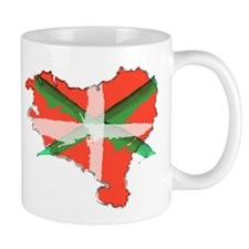 Painted Basque Country Mug