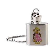 Princess Monkey Flask Necklace
