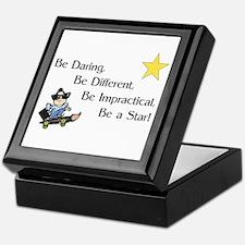 Be Daring ... Be A Star Keepsake Box