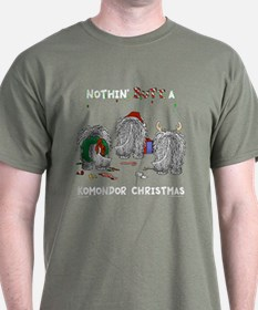 Komondor Christmas T-Shirt