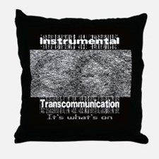 ITC Instrumental TransCommuni Throw Pillow
