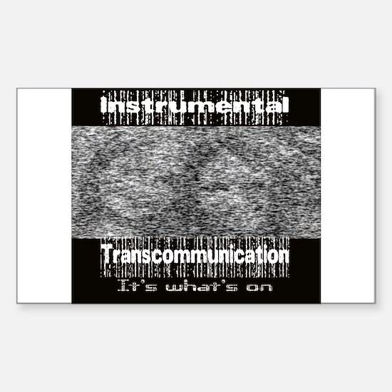 ITC Instrumental TransCommuni Sticker (Rectangular