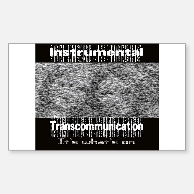 ITC Instrumental TransCommuni Sticker (Rectangular