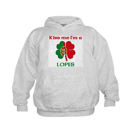 Lopes Family Kids Hoodie