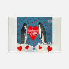 BLIZZARD OF LOVE Rectangle Magnet