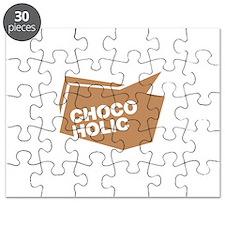 chocoholic braun Puzzle