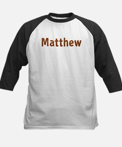 Matthew Fall Leaves Baseball Jersey