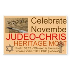 Heritage Month Decal