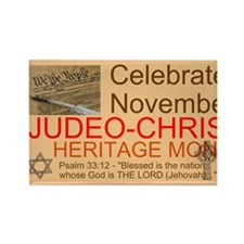 Heritage Month Rectangle Magnet