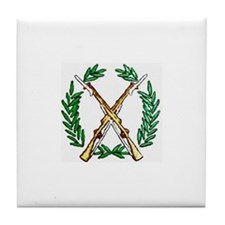 US Army Drill Team Tile Coaster