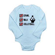 Crawl Walk Volleyball Body Suit